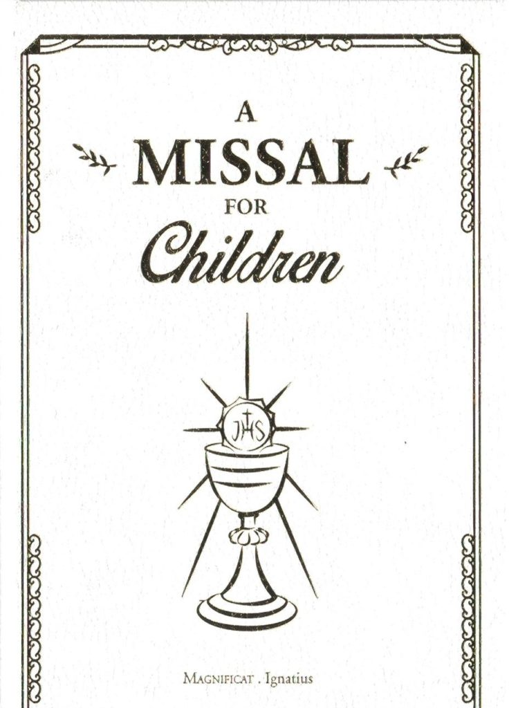 Childrens Missal - Front Cover