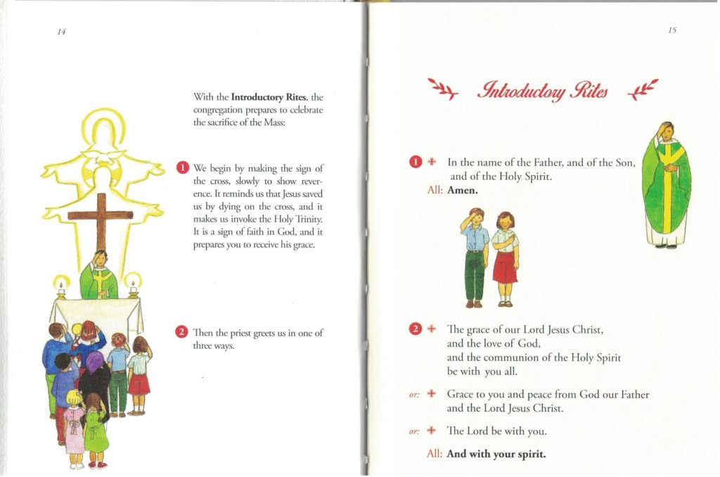 Childrens Missal - Inside pages