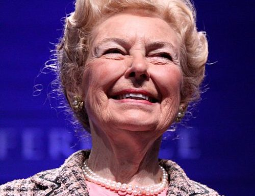 Godspeed, Phyllis Schlafly.  You Were Right.