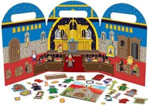 my-little-church-magnet-set