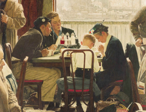 Norman Rockwell's Faith on Display