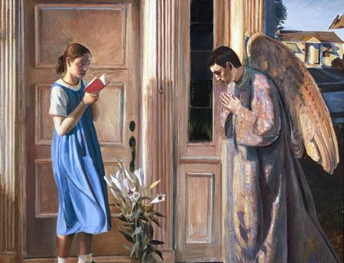 Hail, Mary, Full of Grace:  A New Look at the Annunciation