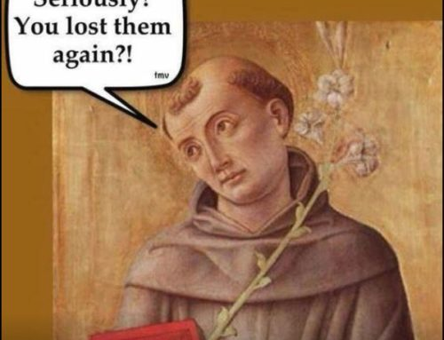 LOST YOUR KEYS? Call on Saint Anthony!