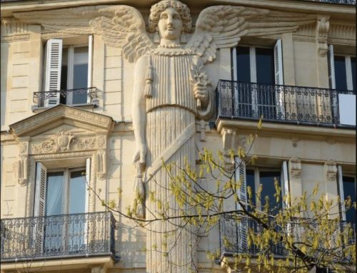 On the Memorial of the Guardian Angels, a Look at the Angels of Paris