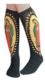 FOOTWEAR FOR THE FEAST: Our Lady of Guadalupe on Your Ankle